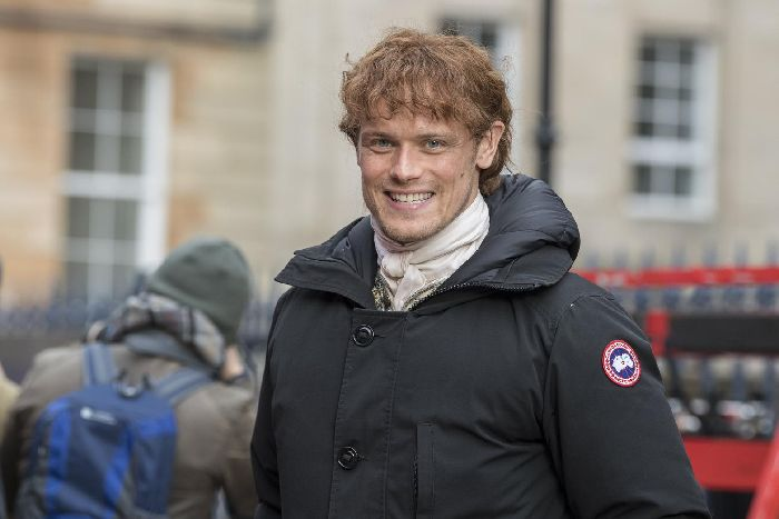 Sam Heughan has been making Outlander in Scotland for the last six years.