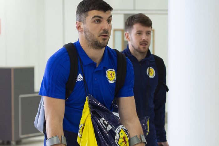 Callum Paterson out of Scotland's next double header after season-ending ankle injury