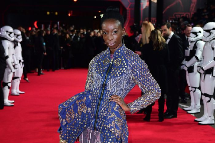 Eunice Olumide attending the european premiere of Star Wars: The Last Jedi held at The Royal Albert Hall, London. Picture: PA