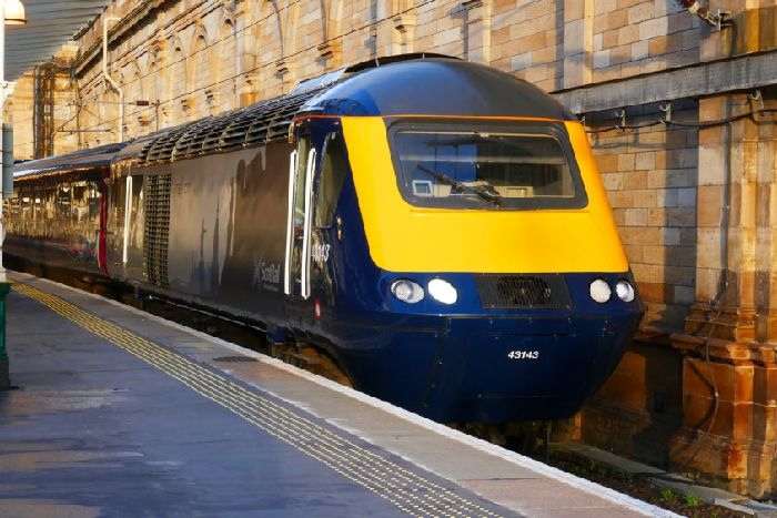 Open door on ScotRail carriage hits another train as they pass - The