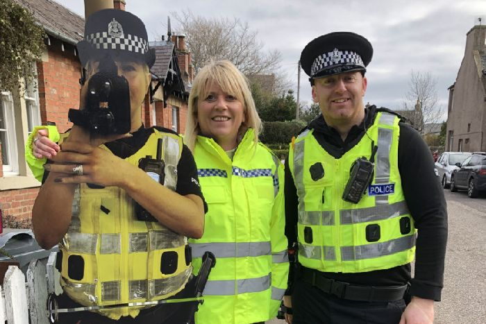 Scotland S Roadside Police Cut Outs Prove Popular But Do They Cut