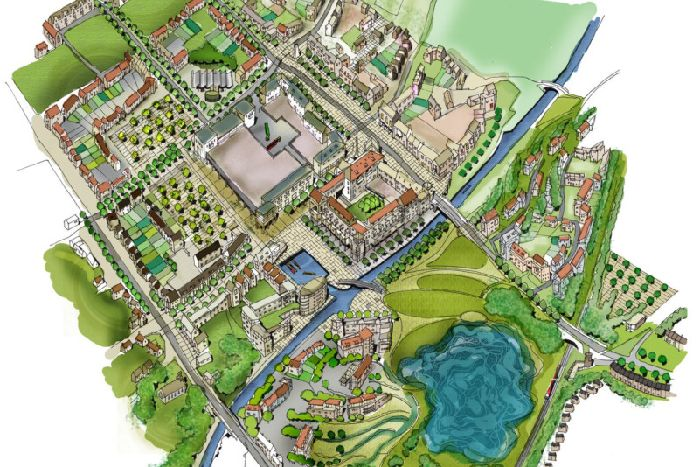 The new homes form part of a masterplan for the West Lothian site. Image: Contributed