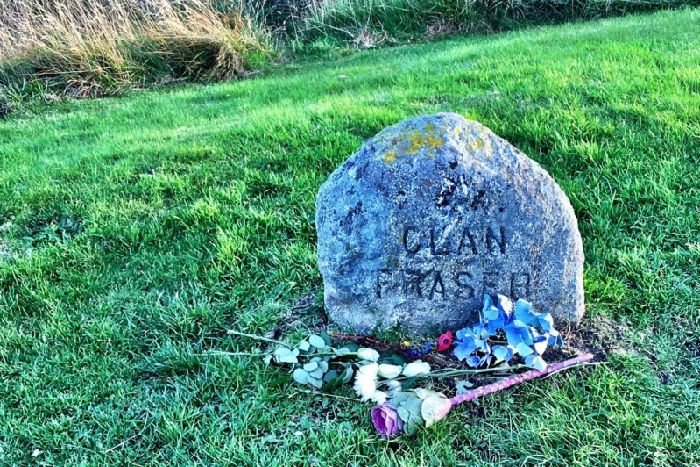 The Clan Fraser grave marker at Culloden - which marks nearby grave pits of those who fell in the battle - has become a must-see destination among fans of Outlander, which features the Fraser Clan. PIC: Flickr/Heather Loy.