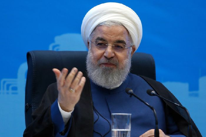 President Hassan Rouhani is sometimes described as a 'moderate' (Picture: Iranian Presidency/AFP/Getty Images)
