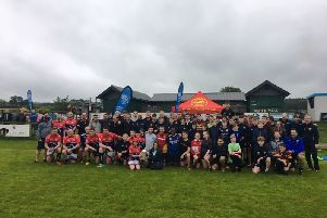 Calcutta Cup comes to Woodend, Deeside as part of the SRU's Caledonia North Summer Roadshow