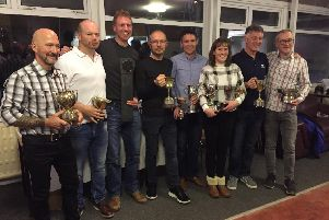 Ayr Roads' award winners