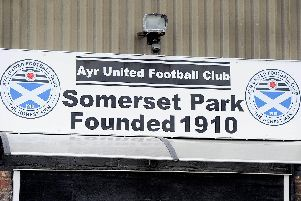 Ayr United's Somerset Park will host children for matches