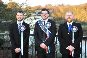 Coldstream's principals. Picture by David Guthrie