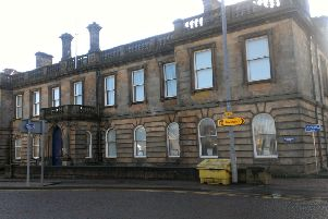 Stonehaven's former courthouse. Picture: Stock