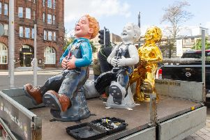 The statues will be on show until August.