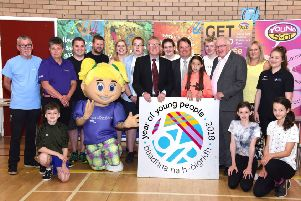 Hundreds of people turned out to support a summer fun day providing taster sessions for the summer events taking place across South Ayrshire.