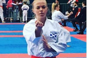 Carlukes Emma has been selected for the Senior World Karate Championships at the age of 16