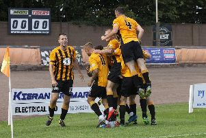 The first of many? Berwick Rangers picked up their first points under Johnny Harvey.