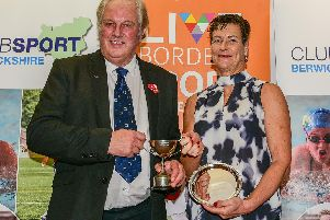 Sports Personality of the Year winner - Joyce Mark