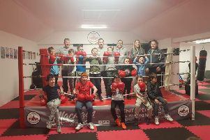 Chirnside Boxing has linked up with Meeting of Minds to provide a four week block for the children