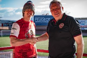 Glasgow Tigers manager Cami Brown welcomes new signing Luke Chessell