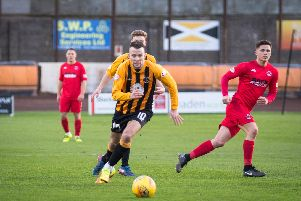 Paul Willis' return was one of few positives for Berwick Rangers (All pictures: Ian Runciman)