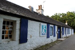 The set of farm cottages in Wilderness Brae were transformed into a theatre nearly 60 years ago