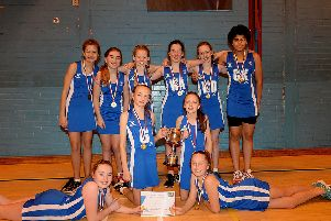The winning squad from Priorsford (picture by Alwyn Johnston)