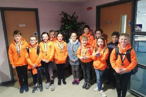 Eyemouth ASC's young squad