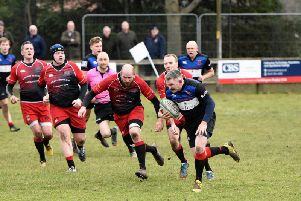 Duns in action last weekend against Linlithgow