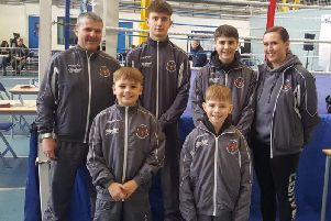 Chirnside Boxing Club's contingent
