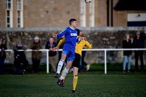 Coldstream in league action