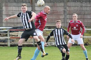 Cumbernauld United were unable to rise  to the occasion against East Kilbride Thistle. (pic by Karen M Scott)