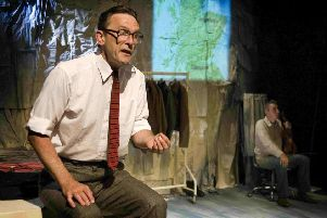 Matthew Zajac performs The Tailor of Inverness at venues in Aberdeenshire. (Photo: Laurance Winram)