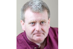 Comedian Raymond Mearns is touring with his show 'Confessions of a Control Freak'.