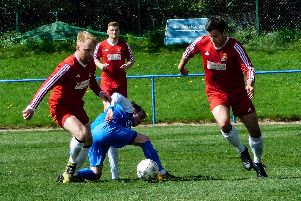 Coldstream in action at Newtongrange (Pics: Corine Briggs)