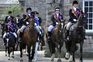 The 2018 Riding of the Bounds. Picture by Jane Coltman
