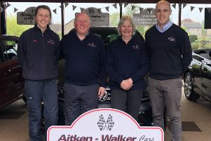 The Aitken-Walker family are celebrating being voted best family-run dealership award winner for 2019 in the SME Transport Awards.
