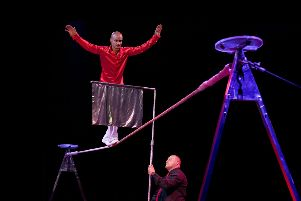 The Circus Montini is coming to Gunsgreen Road, Eyemouth on the weekend ofJune 7-9.