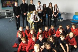Berwickshire High School (BHS) has made a small contribution to the storytelling tradition by involving a group of pupils in the First Minister's Reading Challenge.