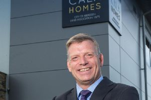 """CALA Homes (North) managing director Mike Naysmith says it's been an """"encouraging start to the year"""""""