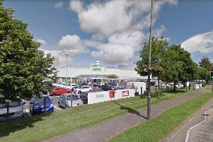 Berry threatened police at Asda. Picture: Google