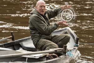 Eric Hastings (69), a recently-retired river guardian who dedicated his life to protecting the river Tweed, won the award in 2018. ('Photo: Phil Wilkinson)