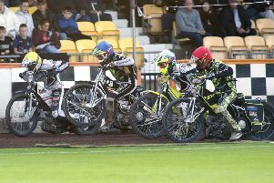 Steve Worrall, Coty Garcia, Lasse Bjerre, Jye Etheridge (picture by Steve Brock)