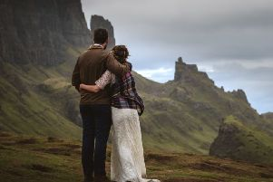 An 'Elope to Scotland' package brings that romantic Outlander-style Scottish wedding within reach.