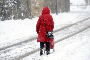 Residents in Berwickshire are being warned to be prepared for snowy conditions at the start of this week.