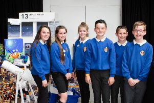 Clerkhill pupils who took part in the recent Celebration of STEM event at Glasgow Science Centre