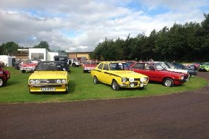 Ford vehicles old and new will be on display at AllFord at Alford this Sunday.