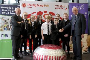Lanarkshire's first Big Bang Fair took place at New College Lanarkshire