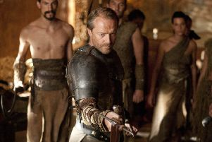 """Game of Thrones star Iain Glen may have recovered from deadly greyscale in the epic drama but he's asking his fellow Scots to """"own up to the inevitable"""" and make a will. (Picture courtesy of Sky)"""