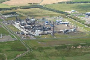 St. Fergus gas plant near Peterhead.