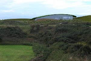 The proposed site of the interconnector at Boddam.
