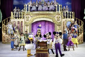 Favourites characters from many of Disney's animated classics will take to the ice in Aberdeen in March this year.