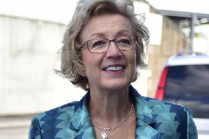 Andrea Leadsom had high praise for Scores apprenticeship scheme which Conrad Ritchie says is at the core of the company.