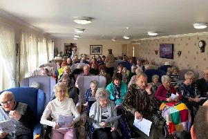 Greyfriars Church visits Beechgrove Care Home